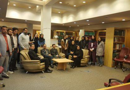 بازدید اعضای کمیته فرهنگ نگاری از فرهنگستان زبان و ادبیات فارسی